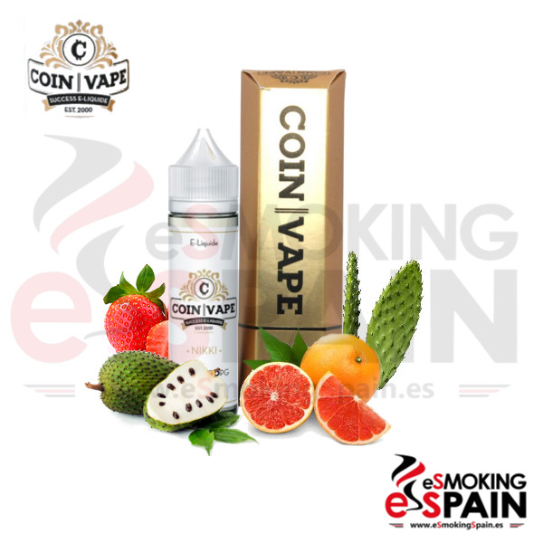 Coin Vape Nikki 50ml 0mg