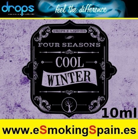 Eliquid Drops Four Seasons Cool Winter 10ml