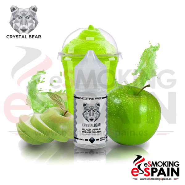 Liquido Crystal Bear Black Apple Polar Slush 25ml 0mg