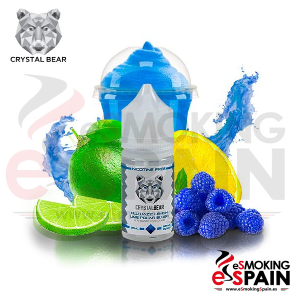 Liquido Crystal Bear Blu Razz Lemon Lime Polar Slush 25ml 0mg