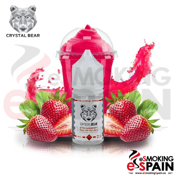 Liquido Crystal Bear Strawberry Polar Slush 25ml 0mg