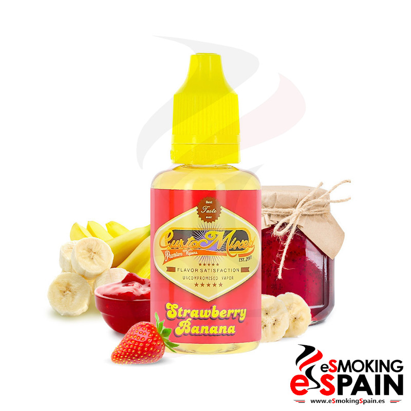 CustoMixed Strawberry Banana Aroma 30ml