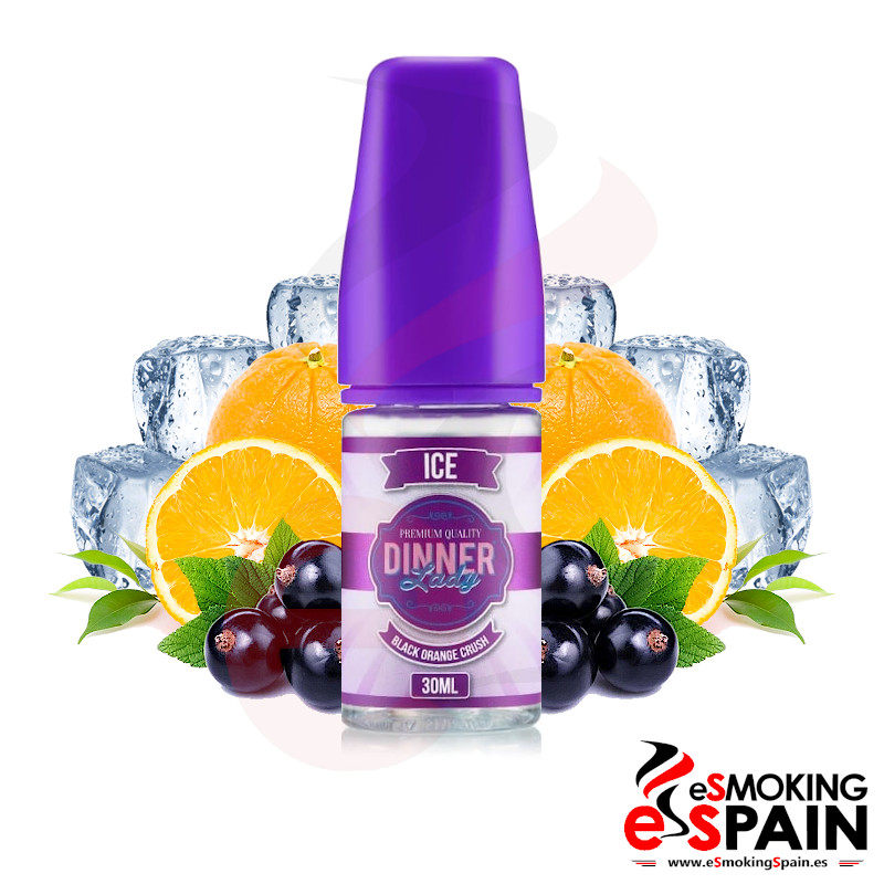 Dinner Lady Ice Concentrate Black Orange Crush 30ml