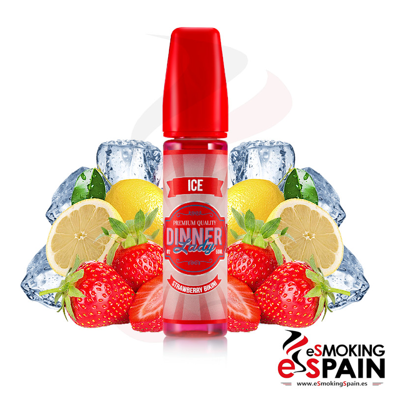 Dinner Lady Ice Strawberry Bikini 50ml 0mg