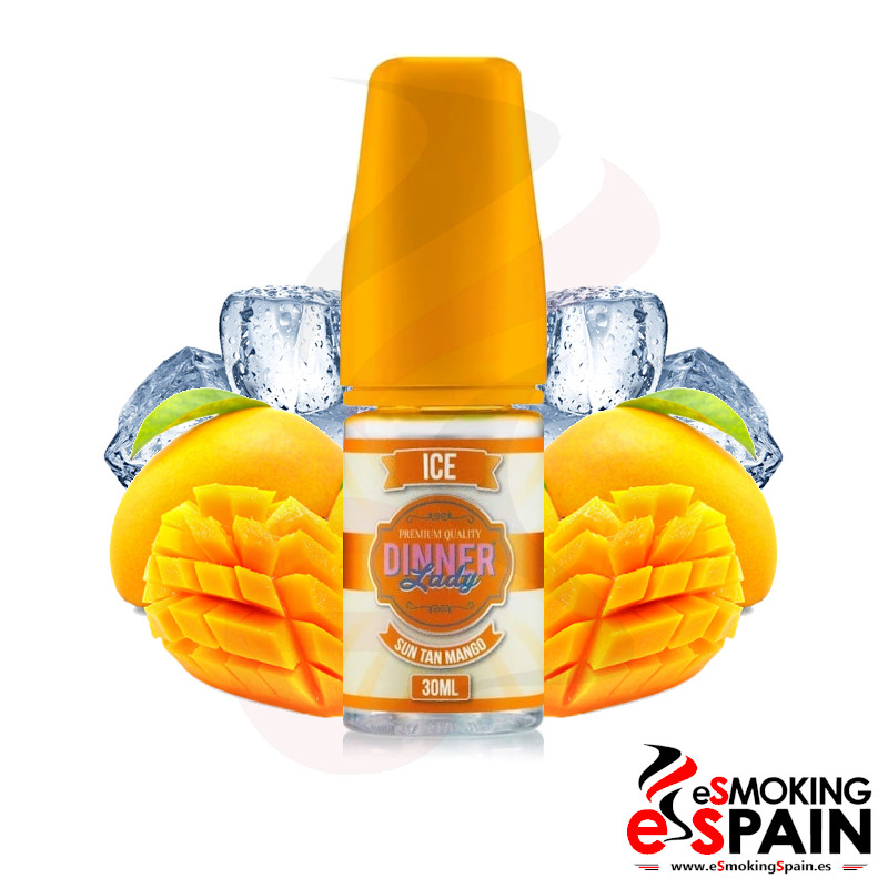 Dinner Lady Ice Concentrate Sun Tan Mango 30ml