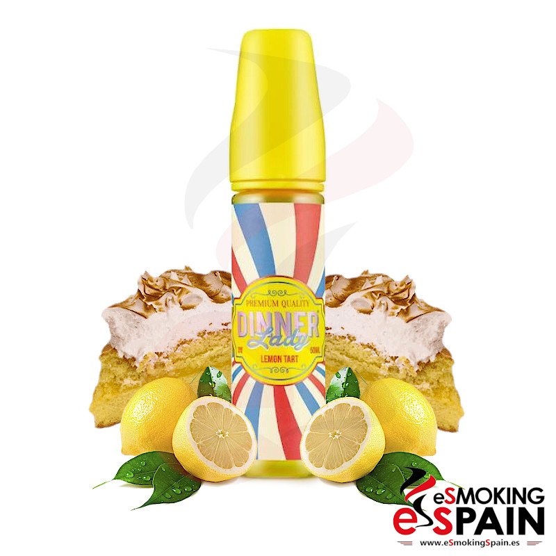 Dinner Lady Lemon Tart 50ml 0mg