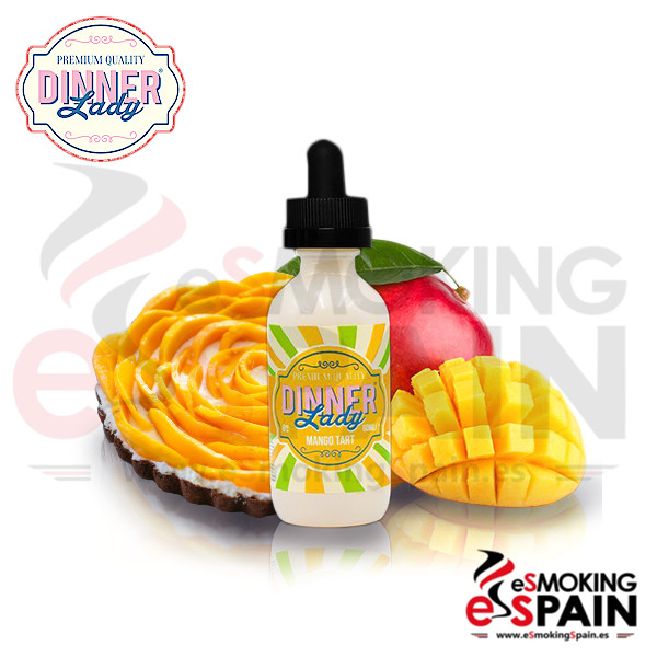 Dinner Lady Mango Tart 50ml 0mg