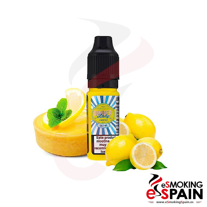 Dinner Lady Salt Lemon Tart 10ml 20mg
