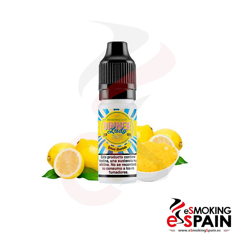 Dinner Lady Salts Lemon Sherbets 10ml 20mg