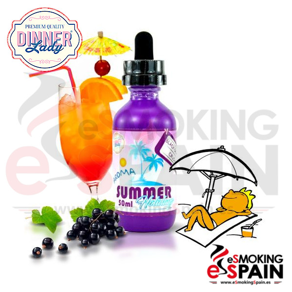 Dinner Lady Summer Hollidays Black Orange Crush 50ml 0mg