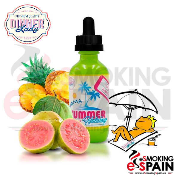 Dinner Lady Summer Hollidays Guava Sunrise 50ml 0mg