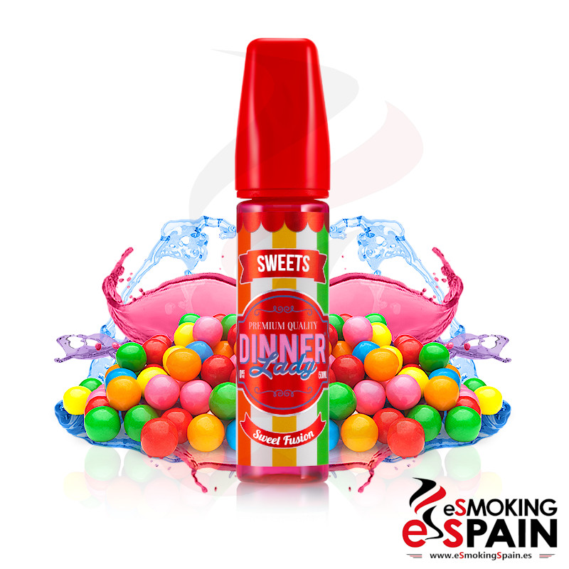 Dinner Lady Sweets Sweet Fusion 50ml 0mg