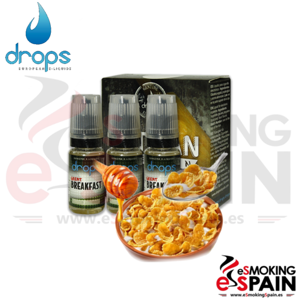 Eliquid Drops Artisans Selection Great Breakfast 3x10ml