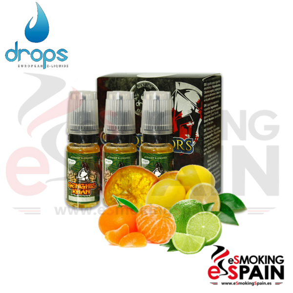 Eliquid Drops Conquerors Genghis Khan 3x10ml
