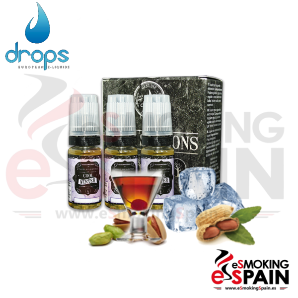 Eliquid Drops Four Seasons COOL WINTER 3x10ml