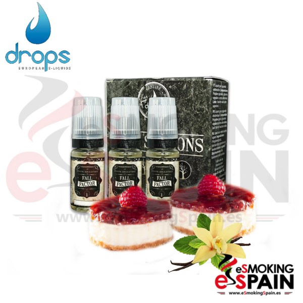 Eliquid Drops Four Seasons Fall Factor 3x10ml