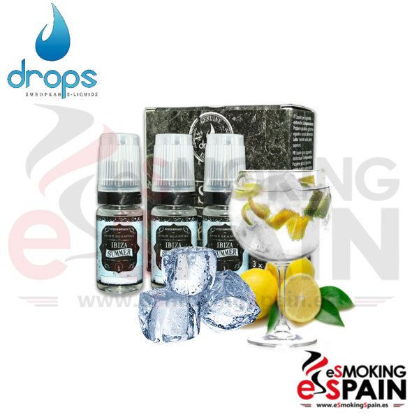 Eliquid Drops Four Seasons Ibiza Summer 3x10ml