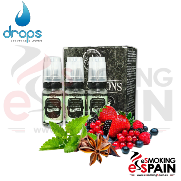 Eliquid Drops Four Seasons Perpetual Spring 3x10ml