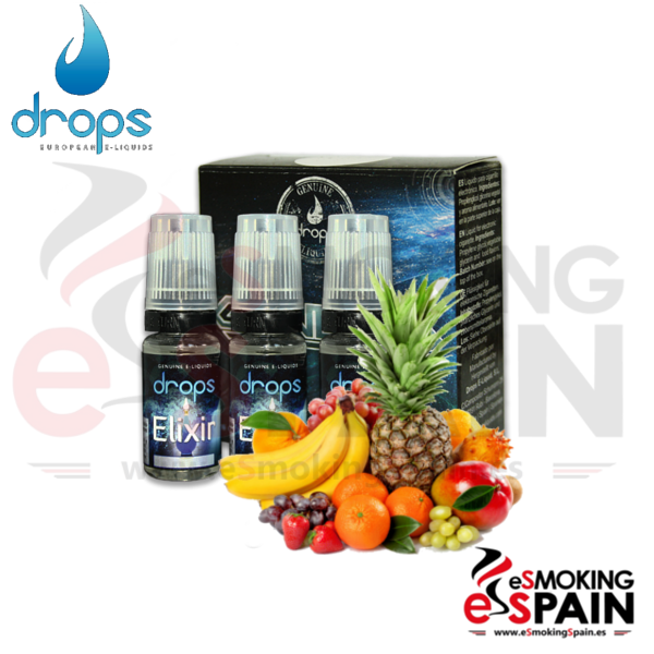Eliquid Drops Elixir 3x10ml