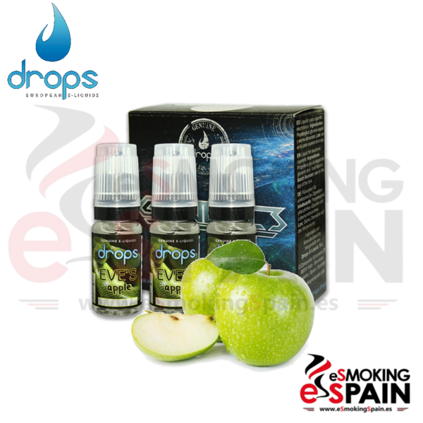 Eliquid Drops Eve's Apple 3x10ml
