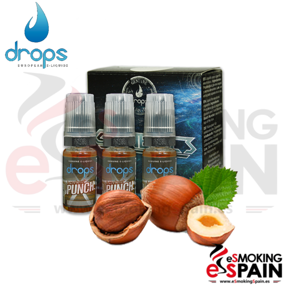 Eliquid Drops Hazelnut Punch 3x10ml