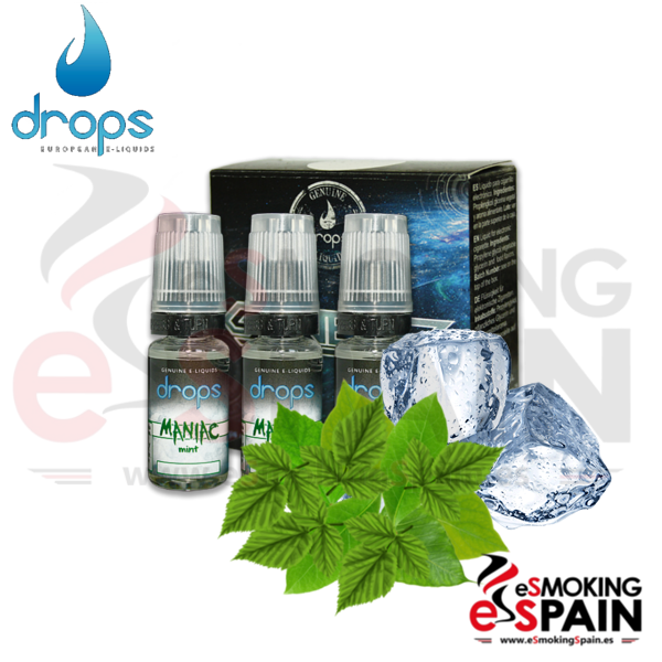 Eliquid Drops Maniac Mint 3x10ml