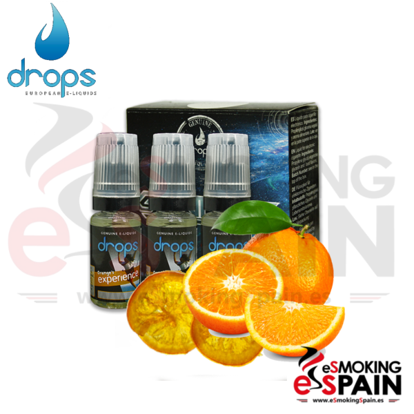 Eliquid Drops Orange's Experience 3x10ml
