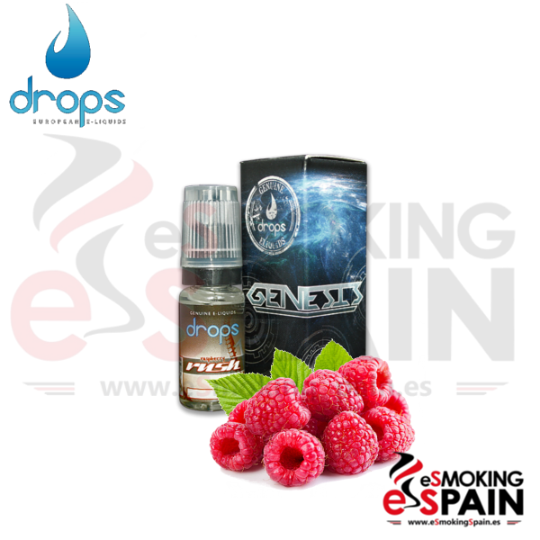 Eliquid Drops Raspberry Rush 10ml