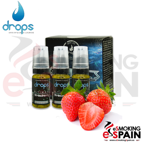 Eliquid Drops Ultimate Strawberry 3x10ml