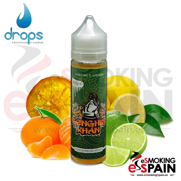 Eliquid Drops Conquerors Genghis Khan 50ml