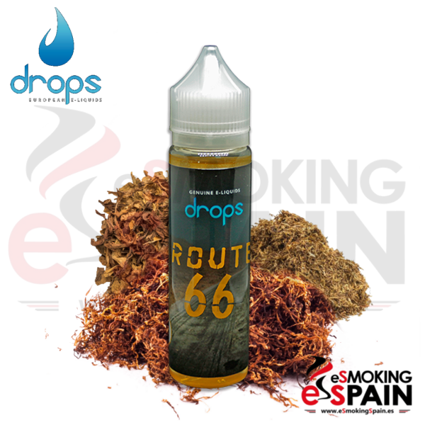Eliquid Drops Signature Route 66 50ml