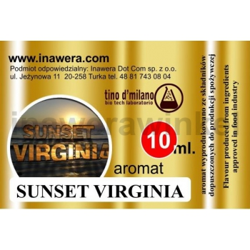 Inawera tino d'milano e-aromat SUNSET VIRGINIA 10ml (nº23)