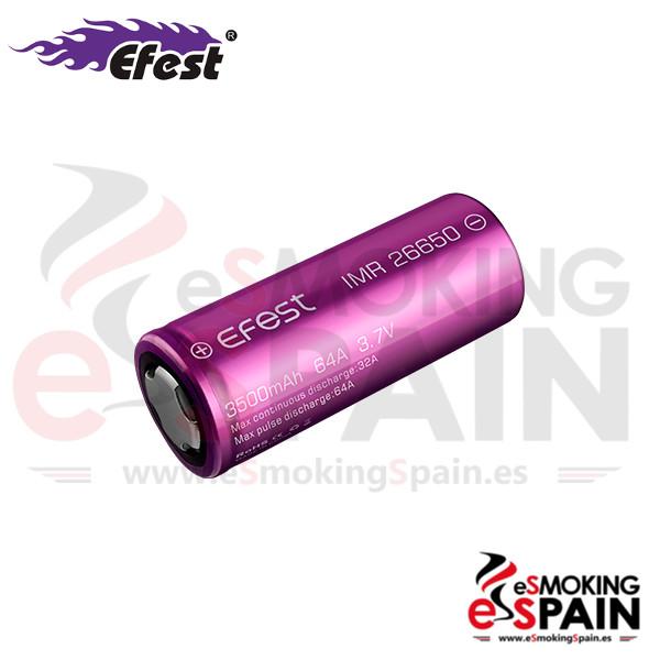 Bateria 26650 Efest Flat Top 32/64A 3500mAh