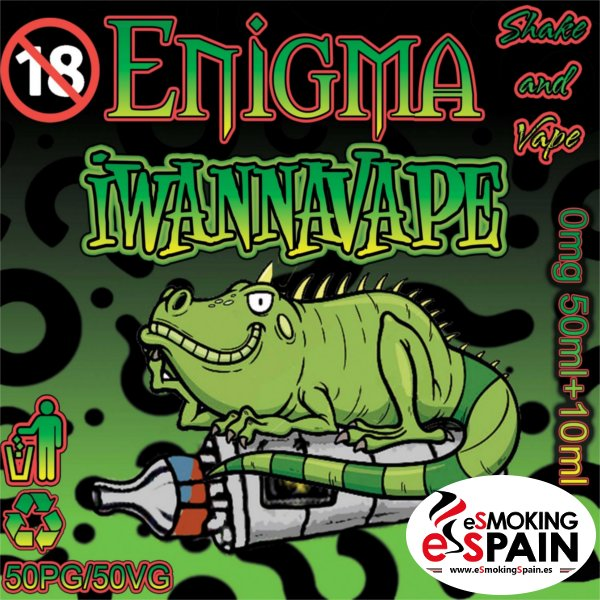 Enigma Eliquid Iwannavape 50ml