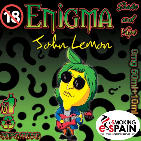 Enigma Eliquid John Lemon 50m