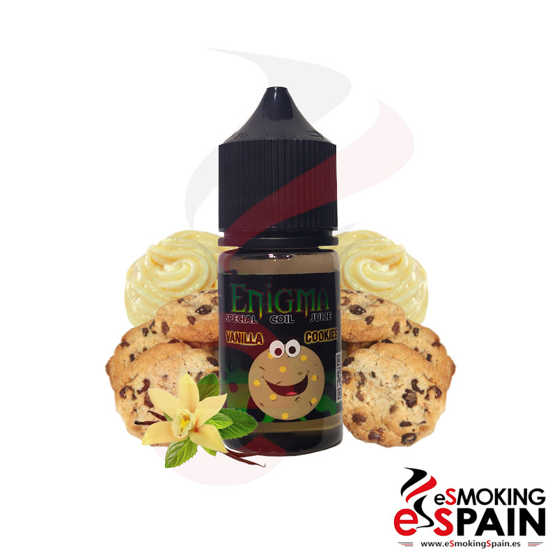 Enigma Juice Vanilla Cookie 25ml 0mg