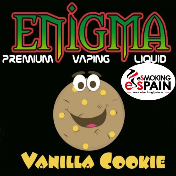 Enigma Eliquid Vanilla Cookies 50ml
