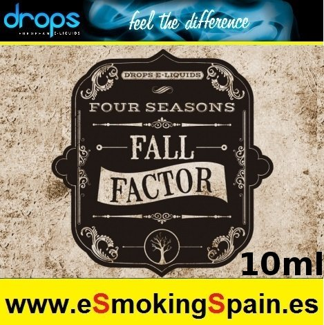 Eliquid Drops Four Seasons Fall Factor 10ml