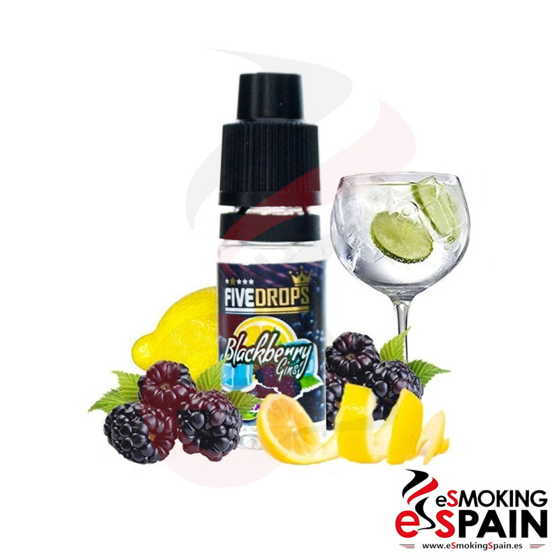 Five Drops Blackberry Gins Flavor 10ml