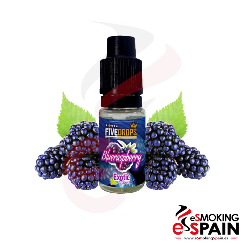 Five Drops Blueraspberry Flavor 10ml