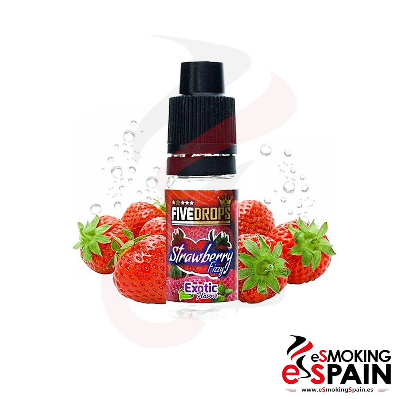 Five Drops Strawberry Fizzy Flavor 10ml