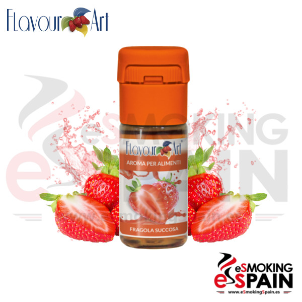 Aroma FlavourArt Juicy Strawberry 10ml (nº160)
