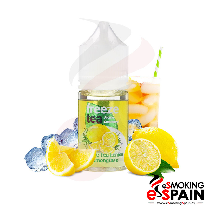 FreezeTea Black Ice Tea Lemon & Lemongrass 30ml