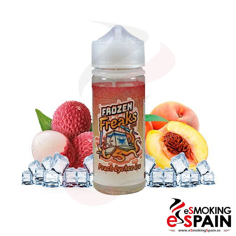 Frozen Freaks Peach Lychee Ice 100ml 0mg