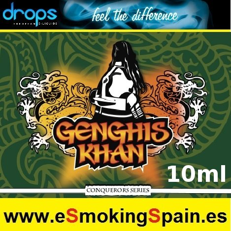Eliquid Drops Conquerors Genghis Khan 10ml