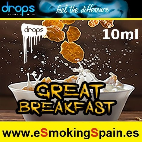 Eliquid Drops Artisans Selection Great Breakfast 10ml