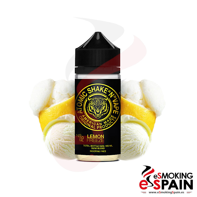 Atomic Shake N Vape by Halo Lemon Freeze 50ml 0mg