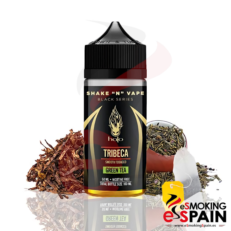 Halo Black Series Tribeca Green Tea 50ml 0mg