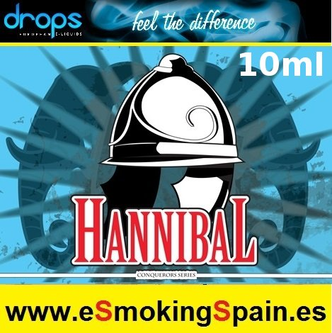 Eliquid Drops Conquerors Hannibal 10ml