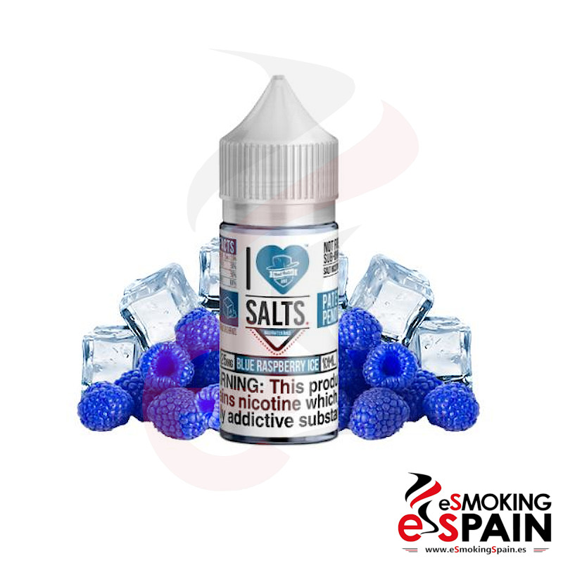 I Love Salts Mad Hatter Blue Raspberry Ice 10ml 20mg